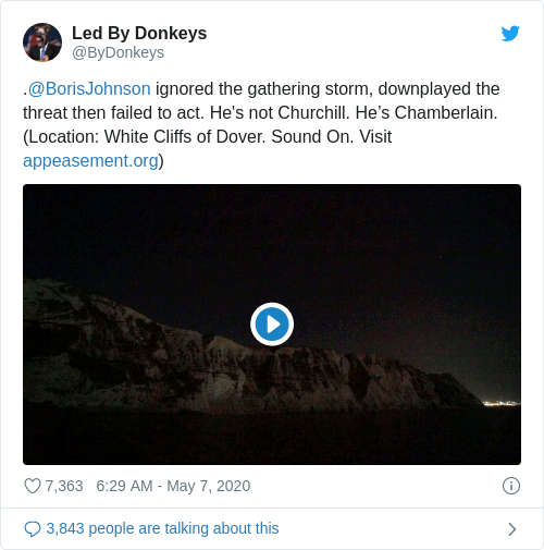 Tweet by @Led By Donkeys
