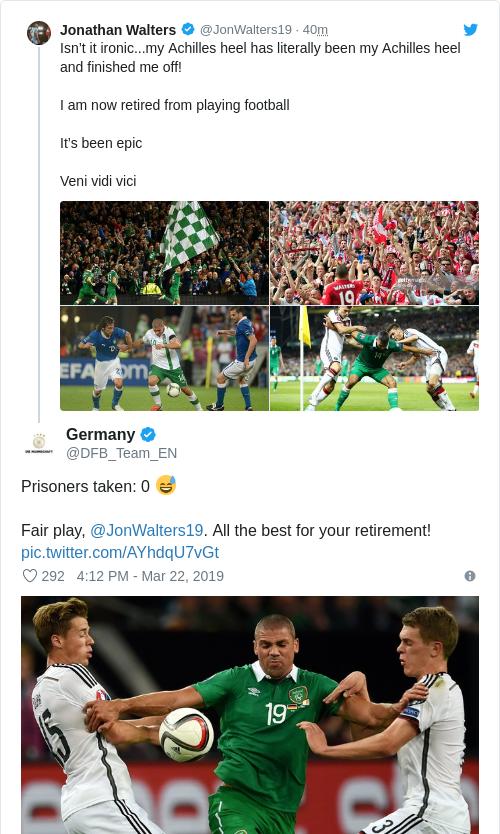Tweet by @Germany