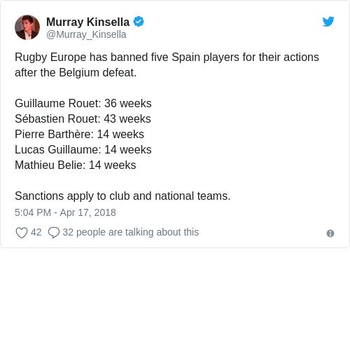 Tweet by @Murray Kinsella