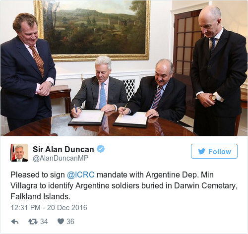 Tweet by @Sir Alan Duncan