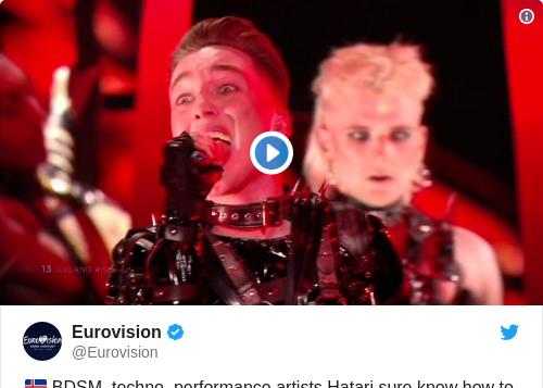 Tweet by @Eurovision
