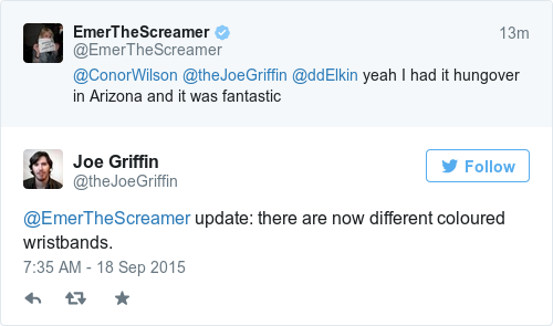Tweet by @Joe Griffin