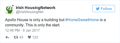 Tweet by @Irish HousingNetwork