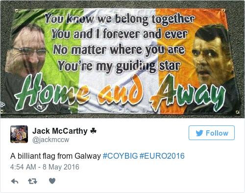 Tweet by @Jack McCarthy ☘