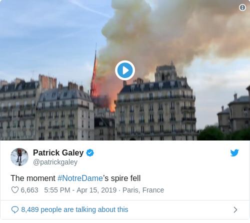 Tweet by @Patrick Galey