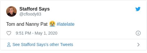 Tweet by @Stafford Says