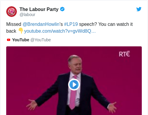 Tweet by @The Labour Party