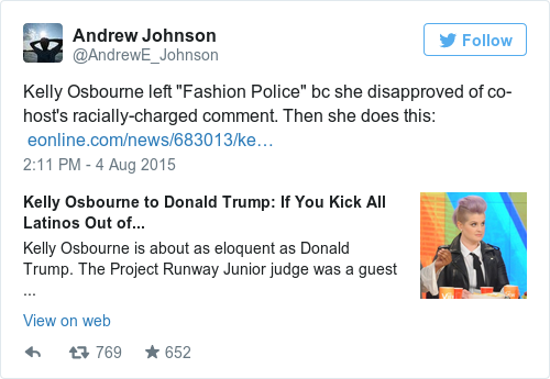 Tweet by @Andrew Johnson