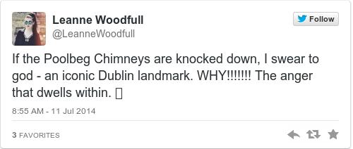 Tweet by @Leanne Woodfull