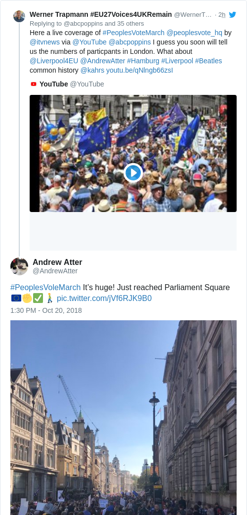 Tweet by @Andrew Atter