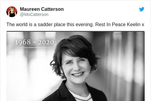 Tweet by @Maureen Catterson