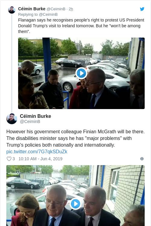 Tweet by @Céimin Burke