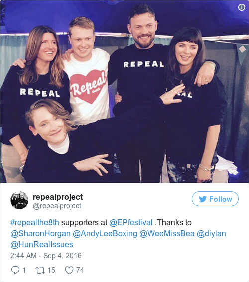 Tweet by @repealproject
