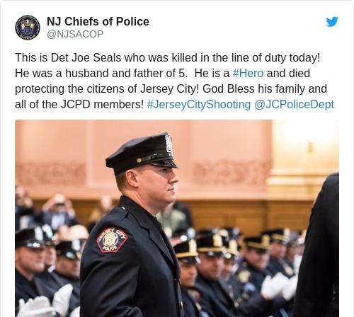 Tweet by @NJ Chiefs of Police