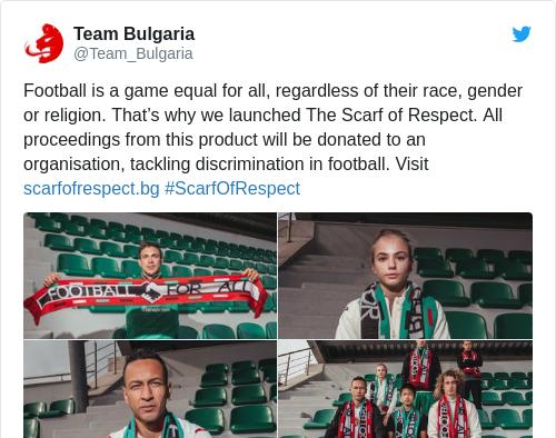 Tweet by @Team Bulgaria