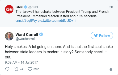 Tweet by @Ward Carroll
