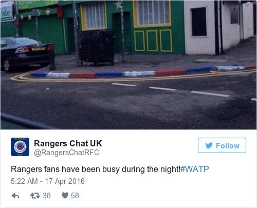 Tweet by @Rangers Chat UK