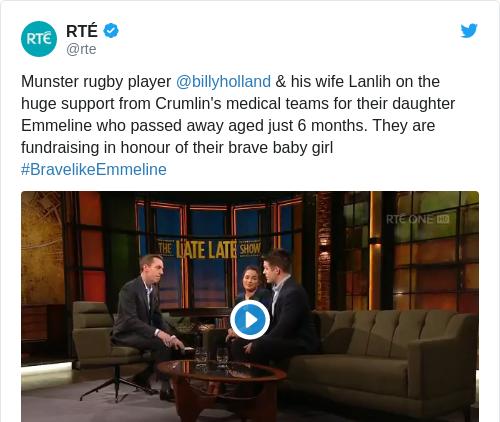 Tweet by @RTÉ