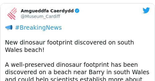 Tweet by @Amgueddfa Caerdydd