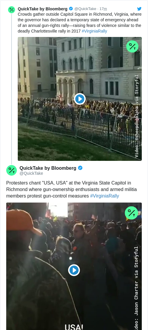 Tweet by @QuickTake by Bloomberg