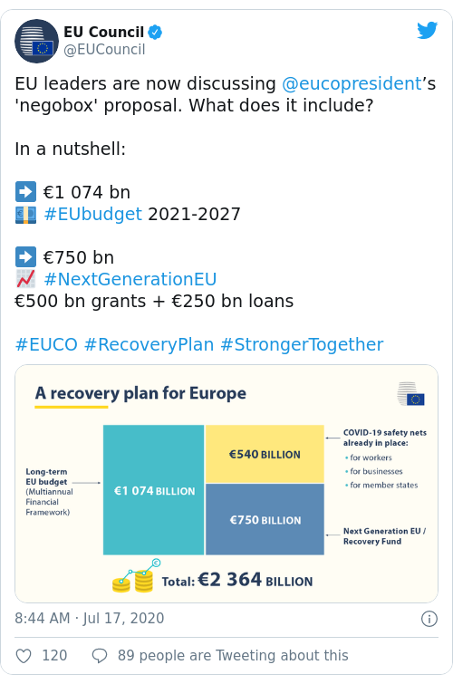 Tweet by @EU Council