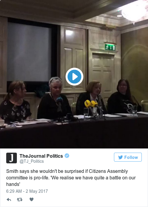 f4ef859cf2e718b5ab80ba1deee3f858 - 'I wouldn't be surprised if the majority of special Dáil committee are anti-choice' – Smith