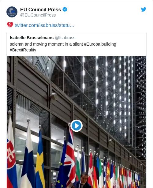 Tweet by @EU Council Press
