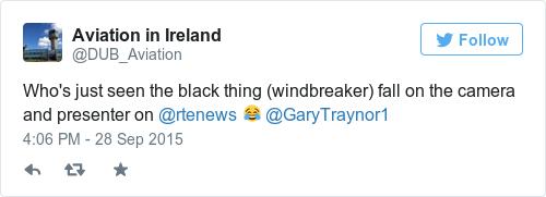 Tweet by @Aviation in Ireland