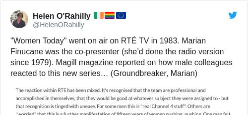 Tweet by @Helen O'Rahilly 🇮🇪🏳️🌈🇪🇺
