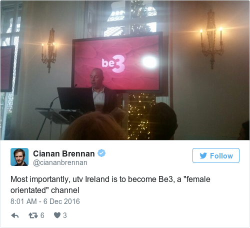 Tweet by @Cianan Brennan